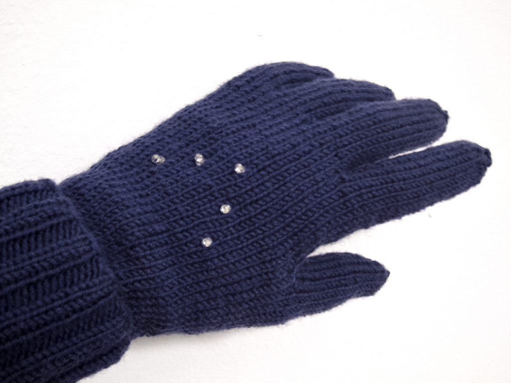 Early Winter Night Biking Gloves