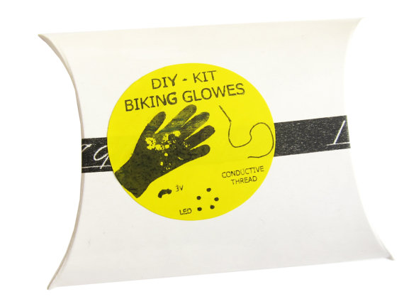 DIY Biking Glowes